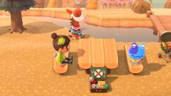 Gemütliches Picknick zu dritt